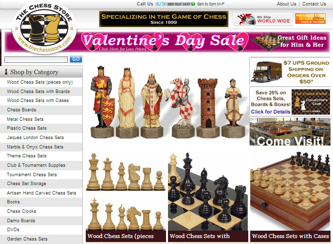 The Chess Store blog