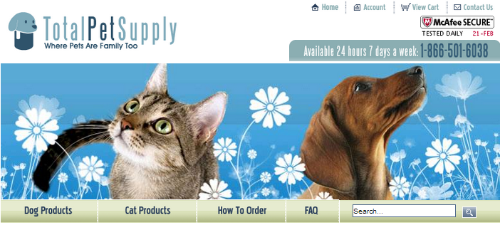 Total Pet Supply blog
