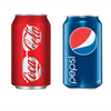Logo Coke vs. Pepsi